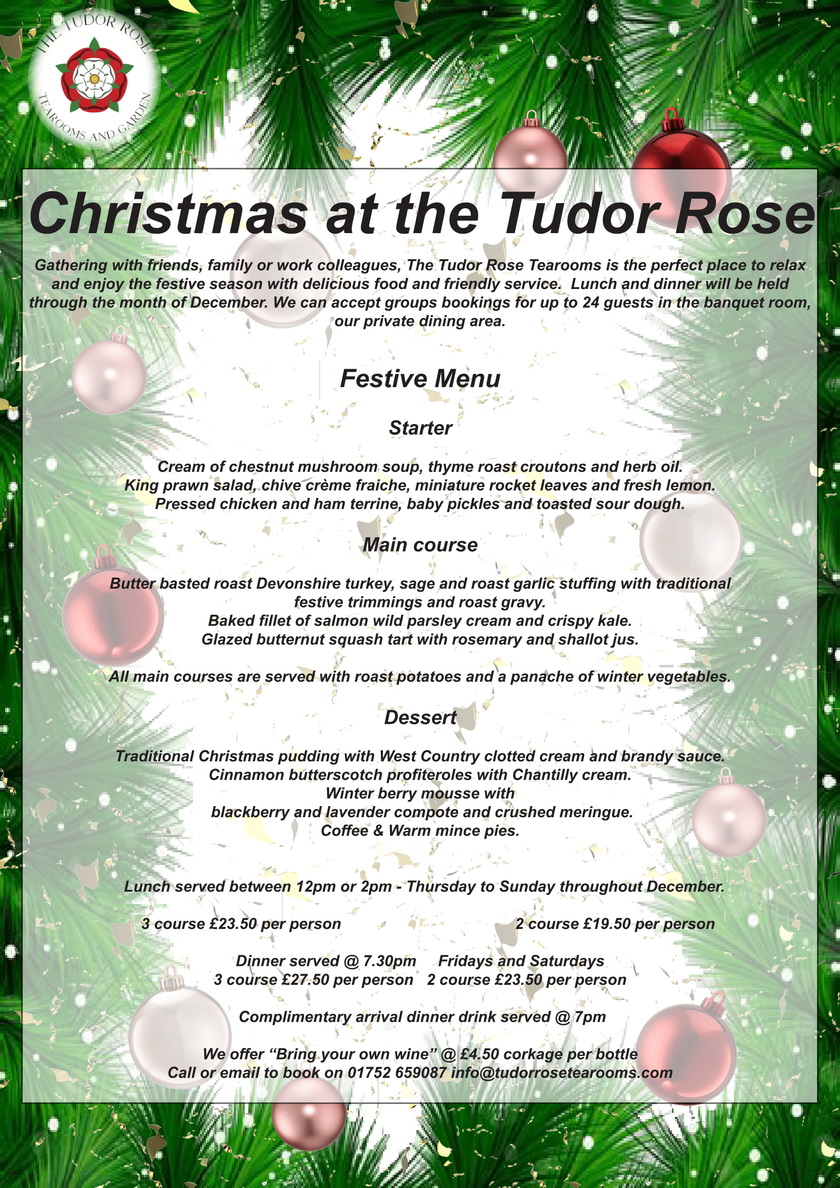 The Tudor Rose | Vintage, English Tearoom Barbican, Plymouth | Dog ...